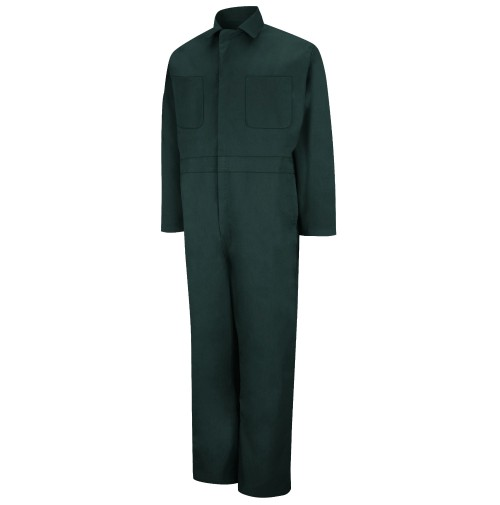 Red Kap CT10SG Twill Action Back Coveralls, Spruce Green