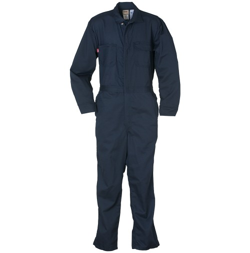 Reed® Navy FR Deluxe Coveralls, 7 oz 941CFU7