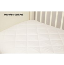 Microfiber Crib Mattress Pad