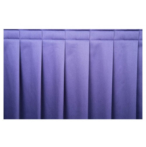 Buffet Table Skirt, Accordion Pleat, 4 sides