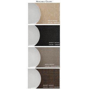 Woven Vinyl Placemats & Coasters