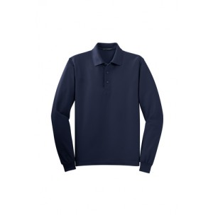 Port Authority® K500LS Silk Touch™ Long Sleeve Polo