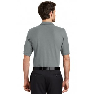 Port Authority® Silk Touch™ Polo with Pocket, K500P