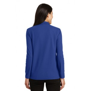 Port Authority® L500LS Ladies Silk Touch™ Long Sleeve Polo