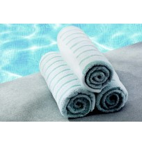 Colorfill Seaside Stripe Pool Towel