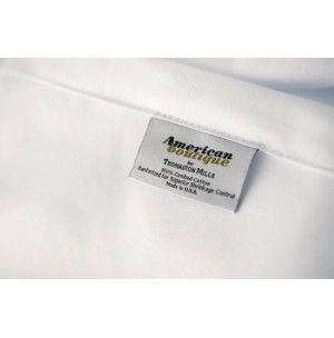 American Boutique White Sheets by Thomaston Mills
