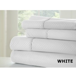 4-Piece Checkered Sheet Set by ienjoy Home®