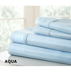 4-Piece Striped Sheet Set by ienjoy Home®