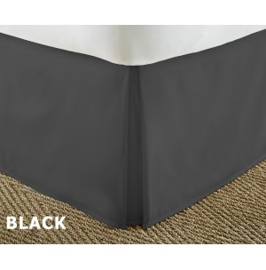 Pleated Solid Bed Skirt by ienjoy Home®