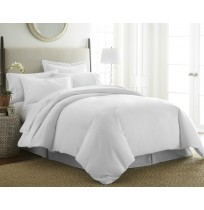 3-Piece Solid Duvet Cover Set by ienjoy Home®