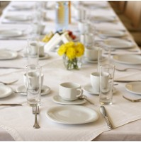 SoftSpun Rectangular Table Linen, 52 x 114