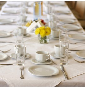 SoftSpun Rectangular Table Linen, 90 x 132