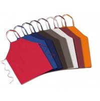 Standard Bib Aprons, Pencil Pocket, 100% Spun Poly