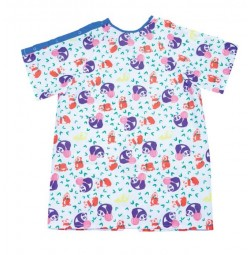 Pediatric IV Gowns, Panda Print