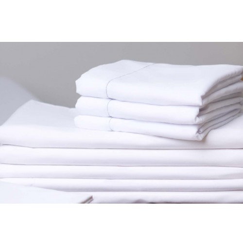 White T-180 Hospitality Sheets