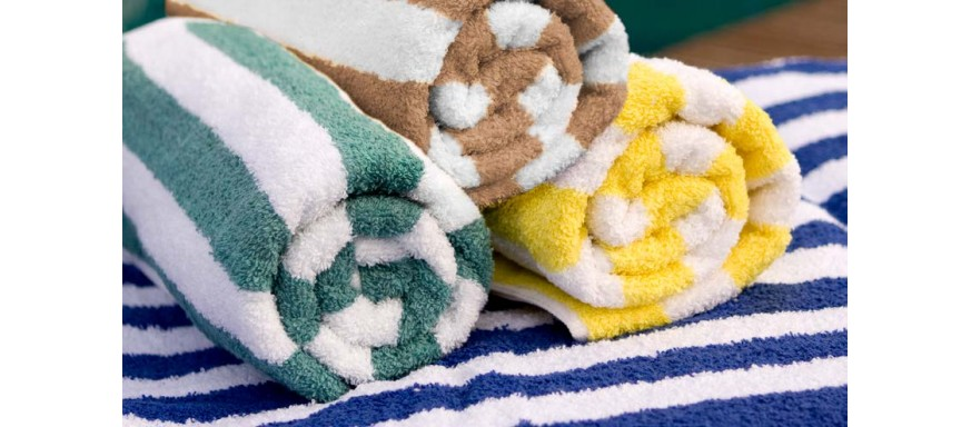 Cabana Stripe Pool Towels