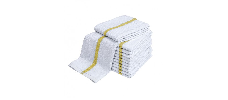 Center Stripe Towels