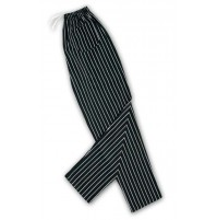 Baggy Chef Pants, Striped