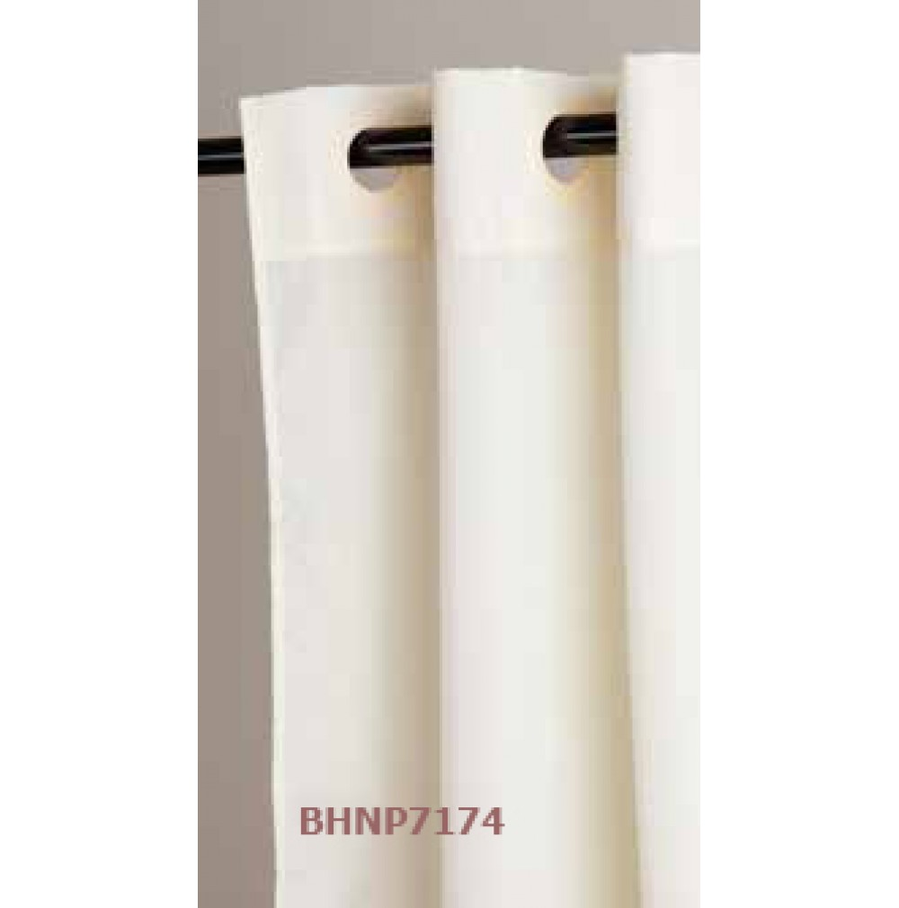 Shower Curtains - Hookless