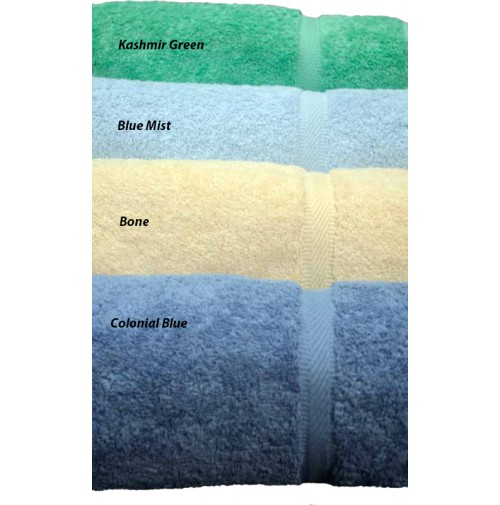 Oxford Imperiale Towels, Kashmir Green