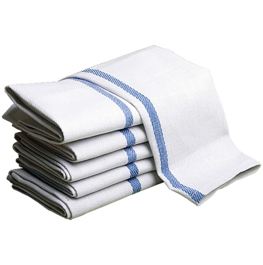 Merveilleux Herringbone Striped Kitchen Towels, ADI
