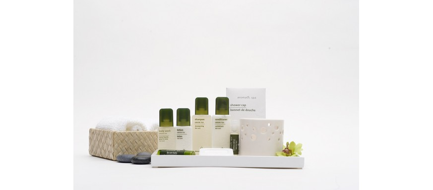 Soap and Shampoo Guest Amenity Collections