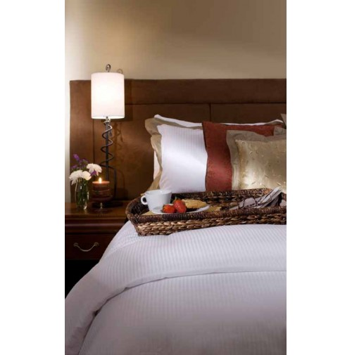 Oxford Bed Topper-Tone on Tone
