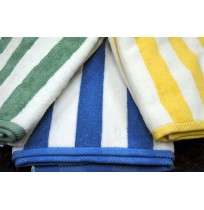Cabana Stripe Beach Towels - 35 x 70