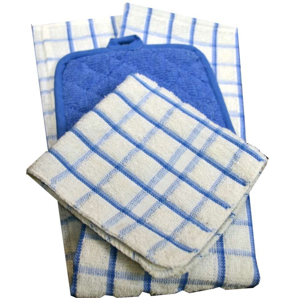 Terry Cloth Kitchen Towel Ensemble