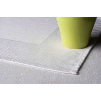 Egyptian Cotton Bird's Eye Square Table Linens