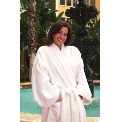 Zero Twist Combed Cotton Luxury Bathrobe