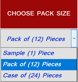 Choose Pack Size