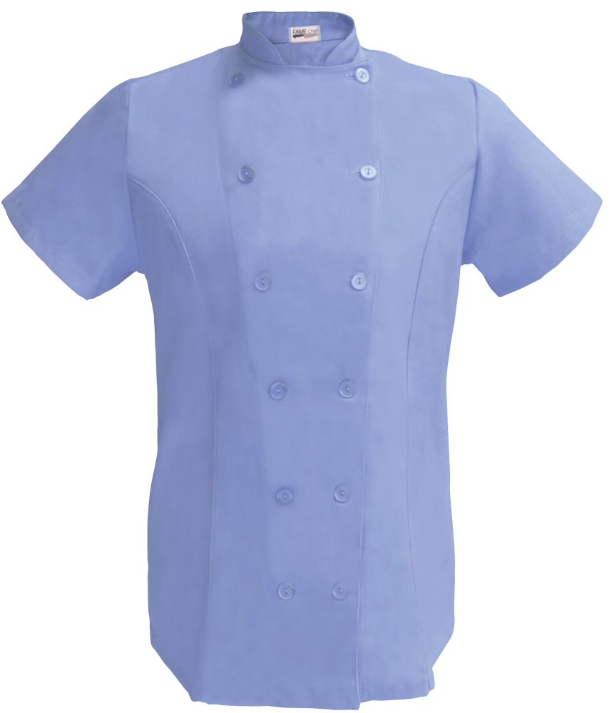 Womens Fitted Chef Coat S S b56309c25