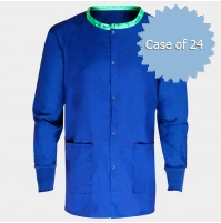 Royal Blue Scrub Warmup Jacket by American Dawn