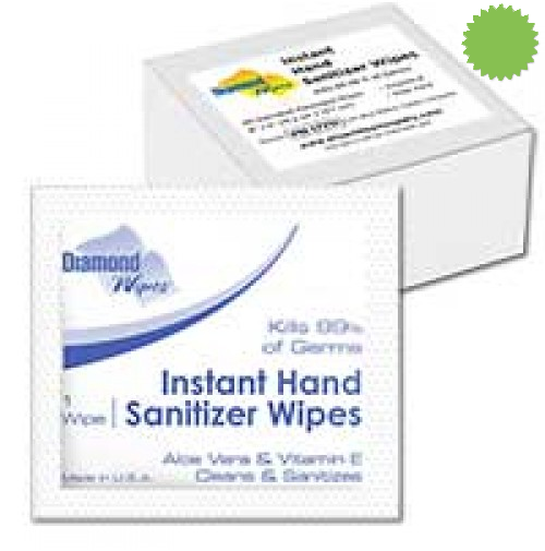 Hand Sanitizing Wipes Individually Wrapped