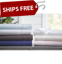 4-Piece 300 Thread Count Cotton Sheet Set by ienjoy Home®