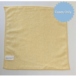 Gold Microfiber 12 x 12 Cleaning Towels, 200 GSM