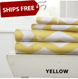 Arrow Patterned 4-Piece Sheet Set by ienjoy Home®