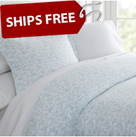 Burst of Vines Patterned 3-Piece Duvet Cover Set by ienjoy Home®