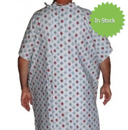 Critical Care IV Patient Gown
