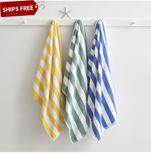 Welspun Cabana Stripe Pool Towels