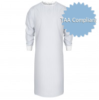 White Level 1 Isolation Gowns, TAA Compliant