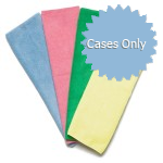 Microfiber 12 x 12 Cleaning Towels, 250 GSM