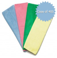 Microfiber 16 x 16 Cleaning Towels