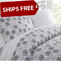 Make A Wish Patterned 3-Piece Duvet Cover Set by ienjoy Home®