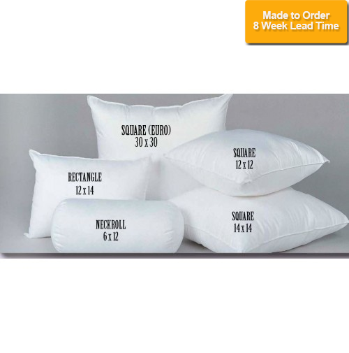 Square Pillow Forms