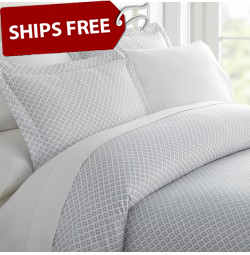 Beaded Arrows Patterned 4-Piece Sheet Set