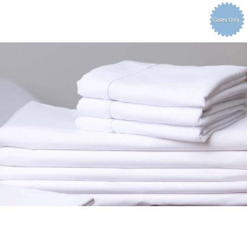 200 Thread Count Quality Linen 1 White Full Hotel Flat Sheet 81x110 Inches