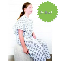 BLC Textiles Teen Patient Gown