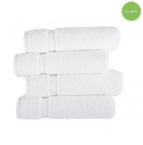 Royal Turkish White Towels Villa Collection